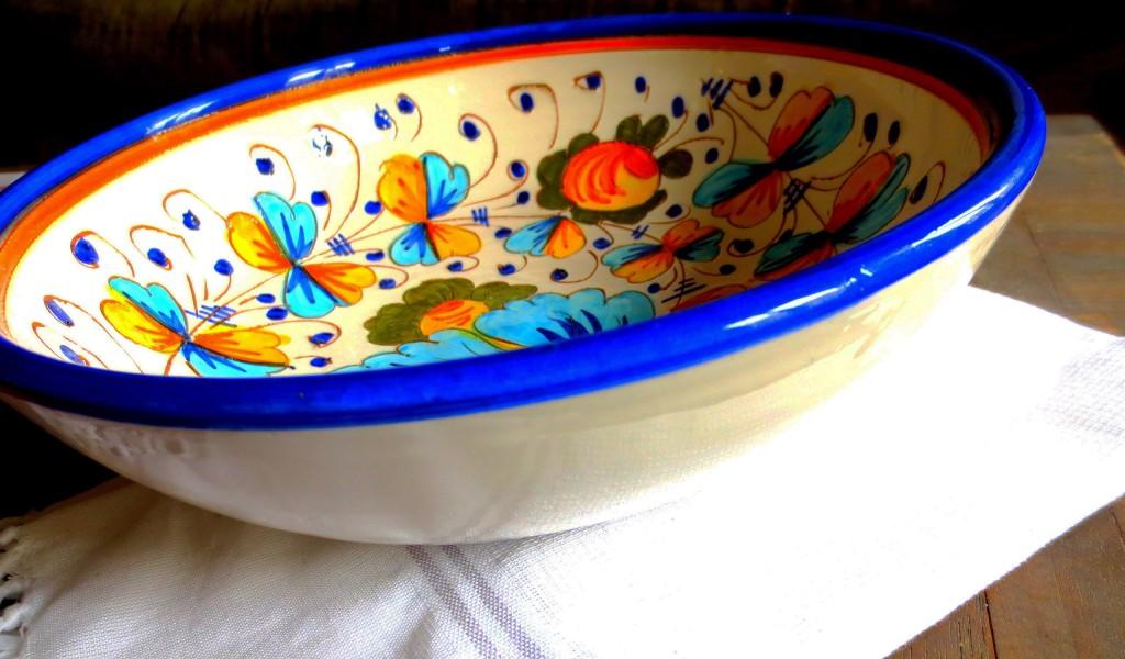 plato ceramica italiano 2
