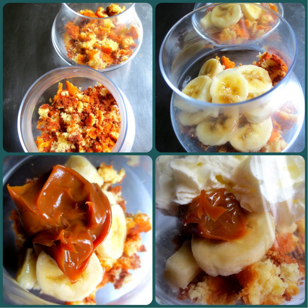 collage banoffee