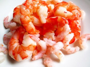 crevettes belles