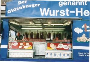 Carro de salchichas Alemania