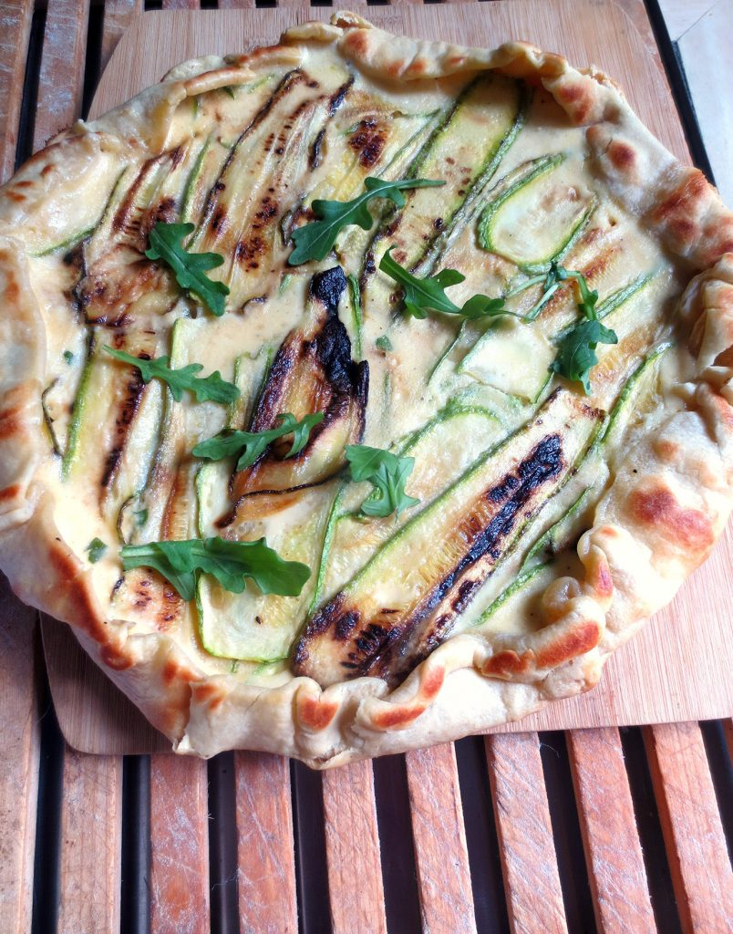 tarte aux courgettes et au gorgonzola la po le je cuisine donc je suis. Black Bedroom Furniture Sets. Home Design Ideas