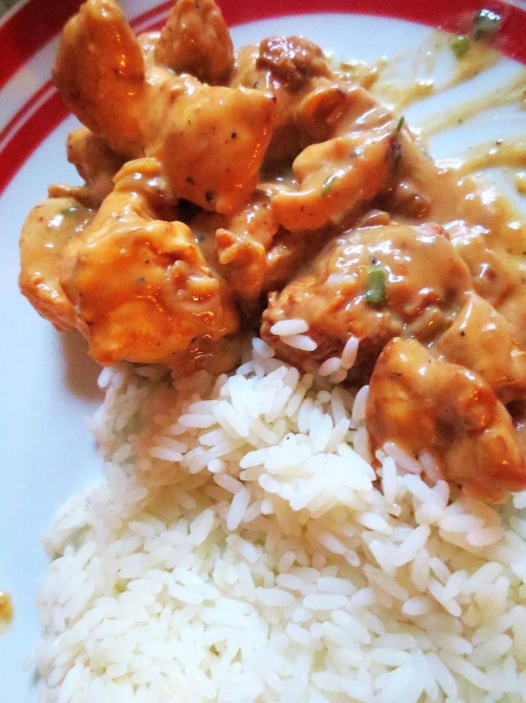 avec du riz
