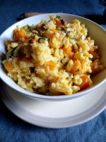 Risotto de Courge & Pignons de Pin