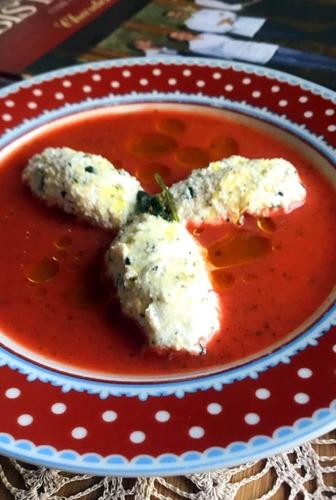 Gaspacho de Tomates aux Saveurs de la Riviera de Cyril Lignac